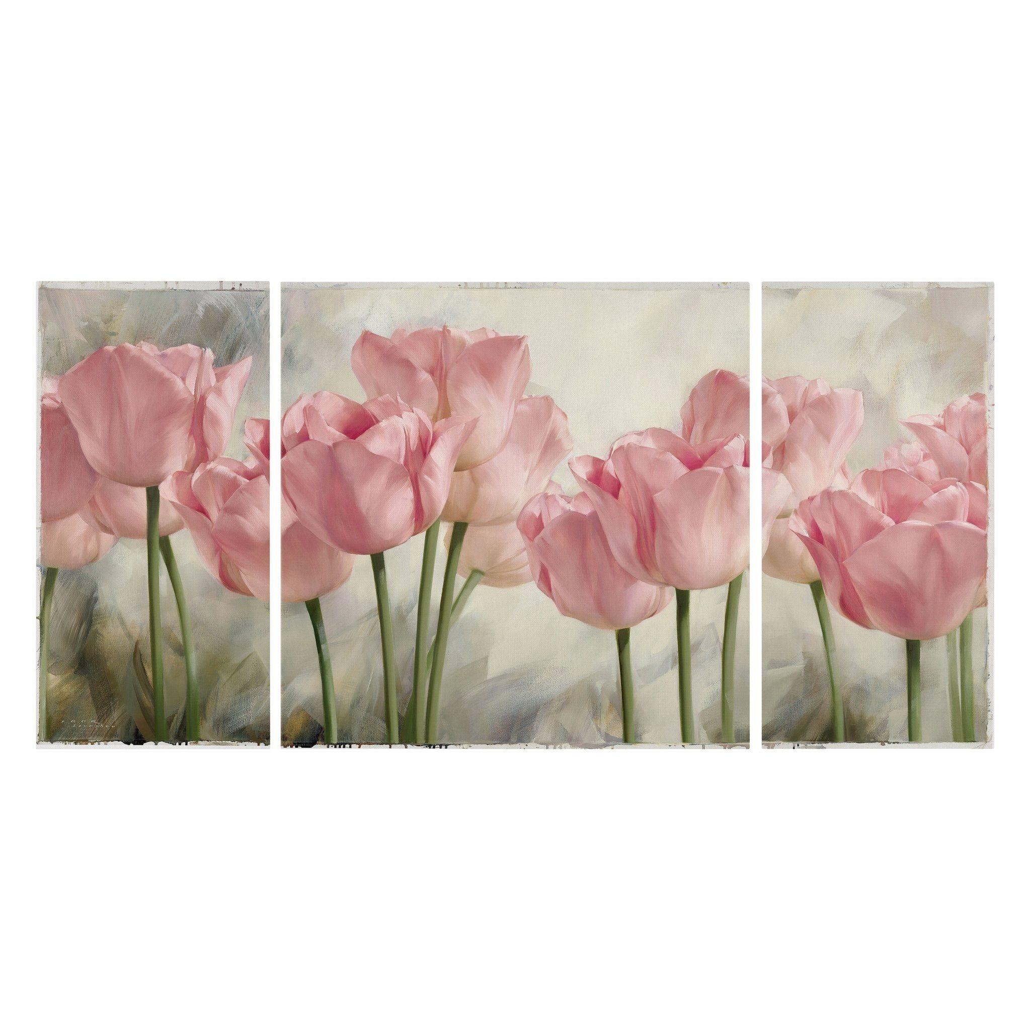 Decoration Cross Stitch 5D DIY Oil Painting Tulips Diamond Painting