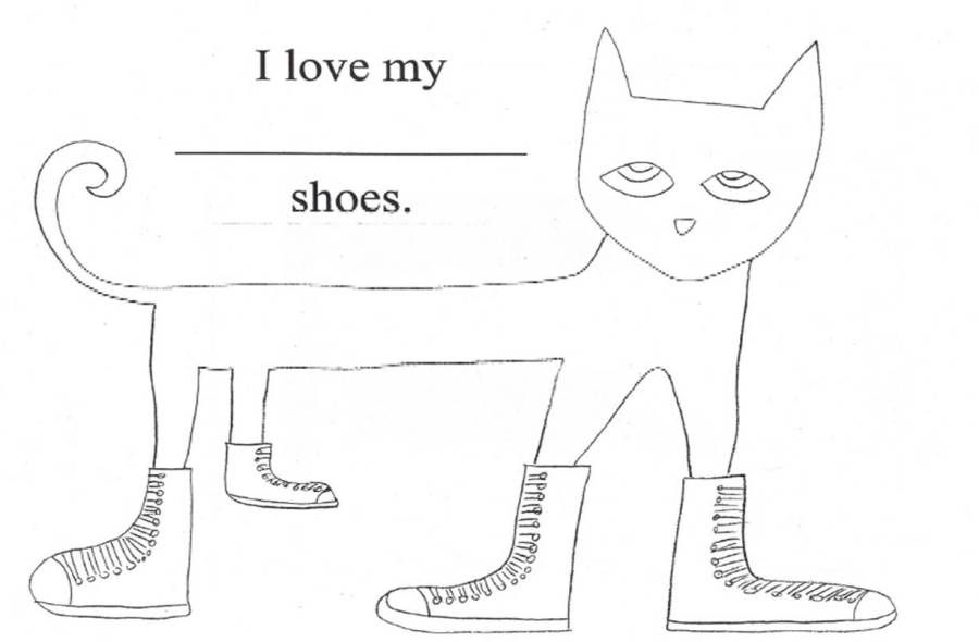 Pete The Cat Pete The Cat Shoes Pete The Cat Cat Coloring Page