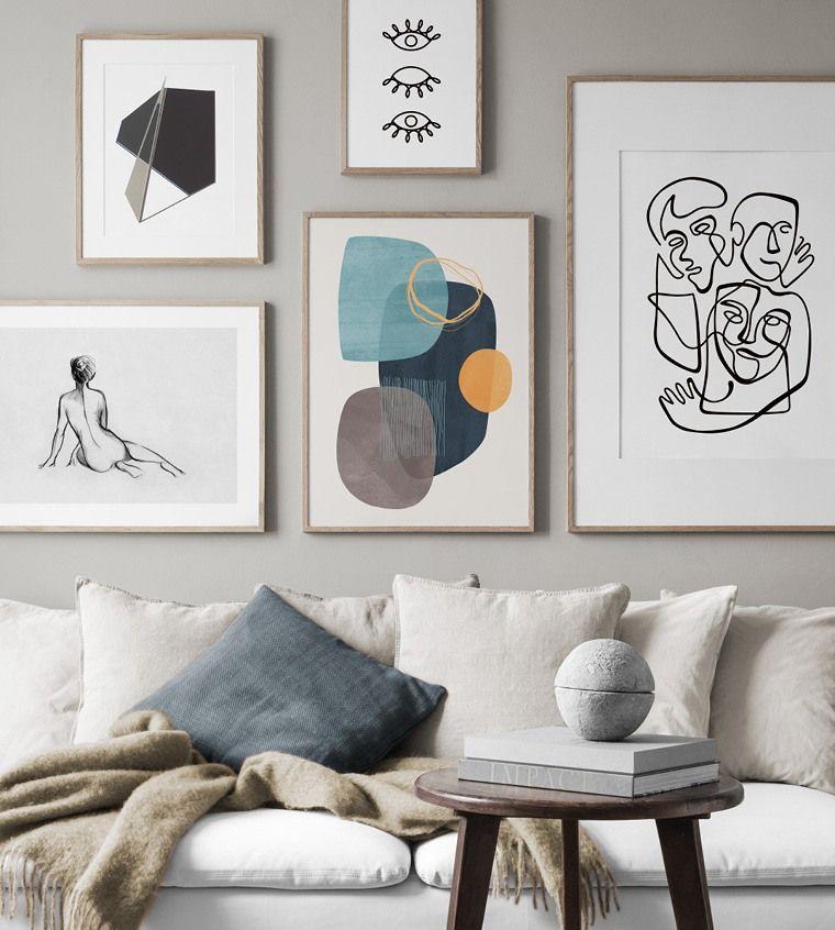 Quadri Moderni Online Poster E Stampi Desenio It Design Scandinavo Manifesti Murali Immagini Murali