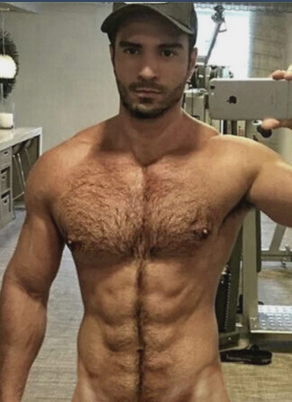 Sexy hairy pound