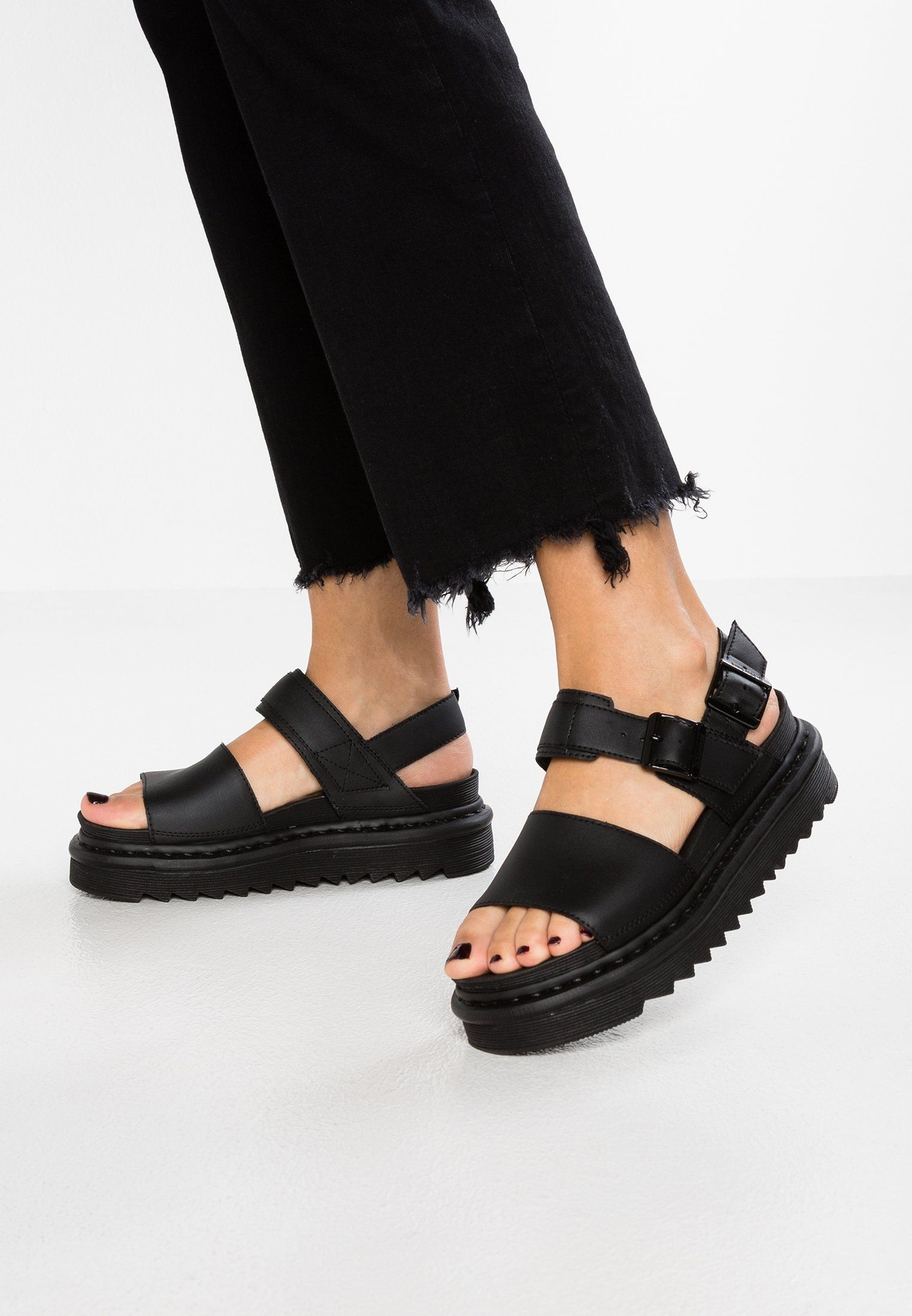 New Doc's Sandals: Dr. Martens Voss leather sandals at