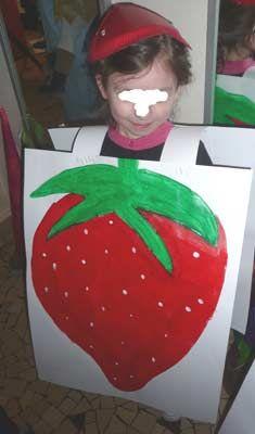 déguisement de fruit ou légume