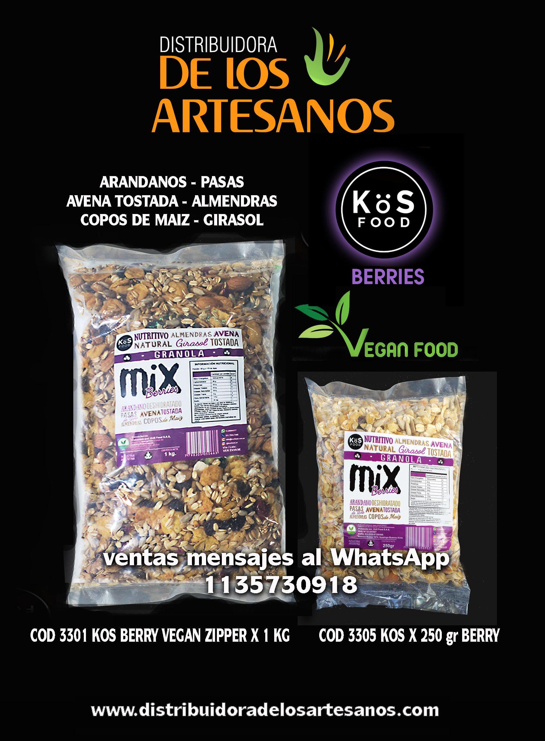 Kös Food Berries Granolas Veganas Ventas Mayoristas En 2020 Artesanos Nutritivo Copos De Maíz