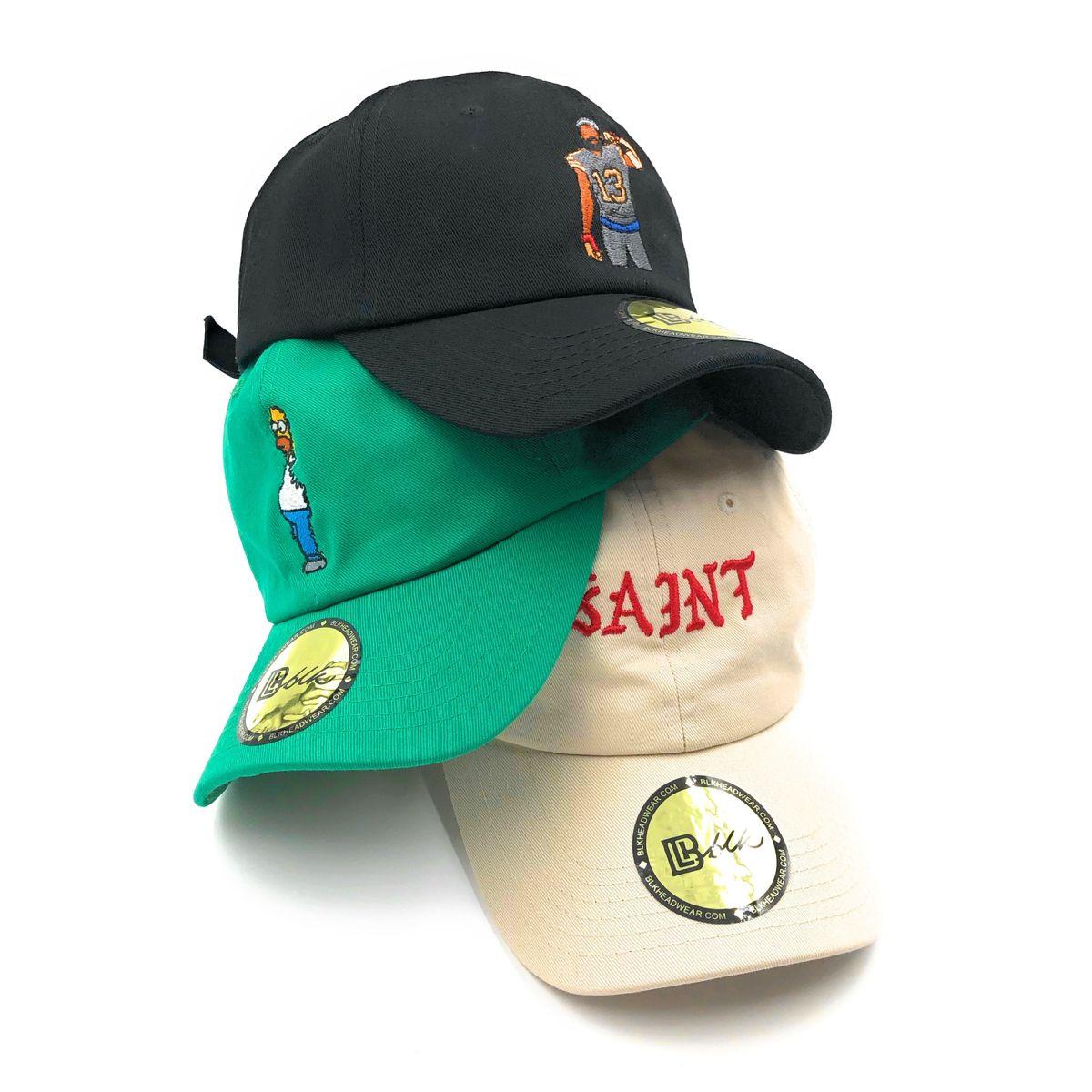 Black Cap Daddy Dad Hat B L K Headwear