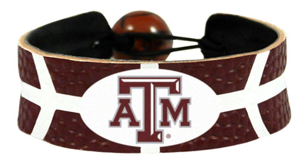 Siskiyou NCAA Texas A/&M Aggies Fan Bead Stretch Bracelet
