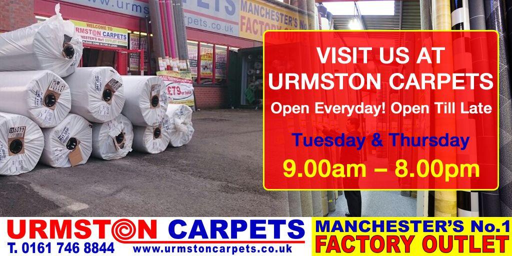 Visit Our Warehouse In Urmston Urmston Carpets Cheap Flooring
