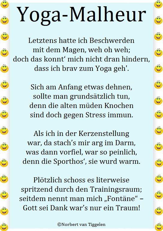 Gedichte yoga