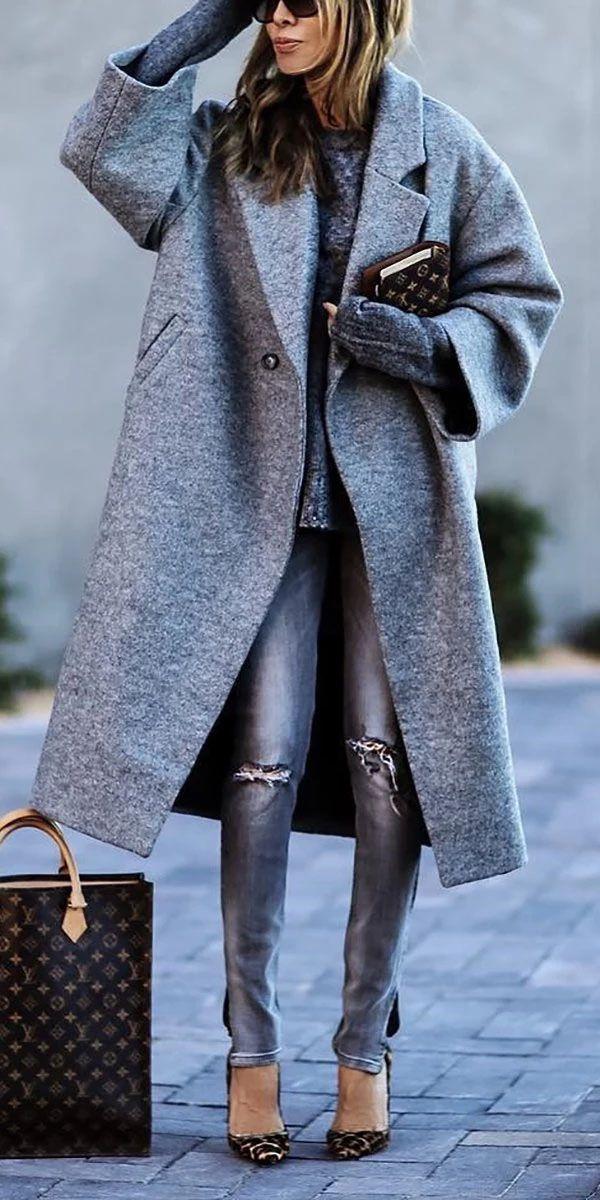 Pure Color Coats #latestfashionforwomen
