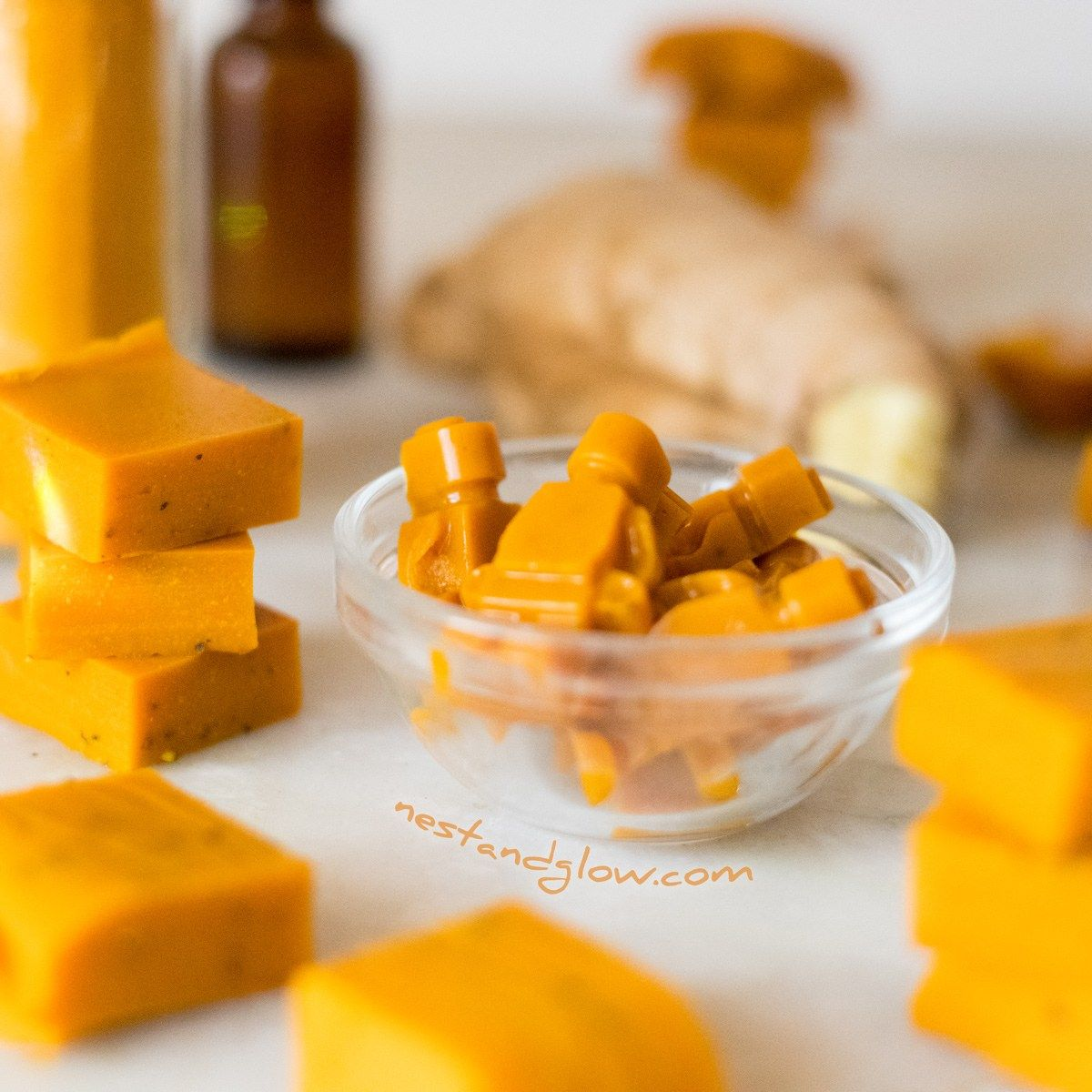 CBD Infused Sweets with Turmeric and Ginger