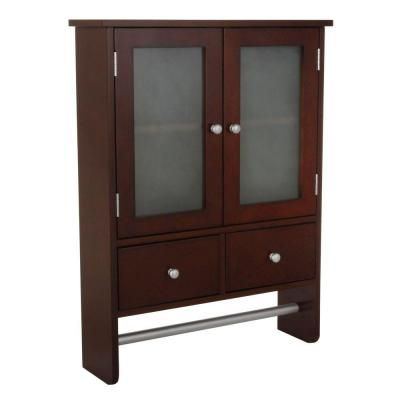 Best Home Decorators Collection Amanda 24 In Wall Cabinet In 640 x 480