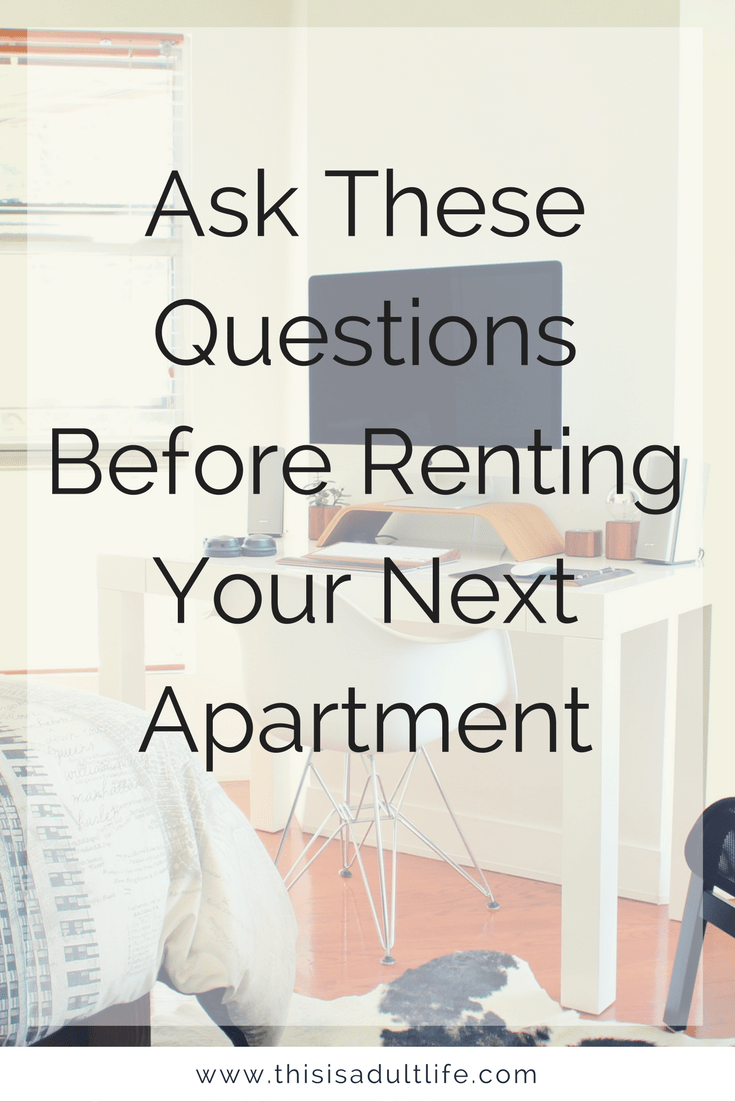 The Best Apartment Checklist To Bring On Your Next Tour