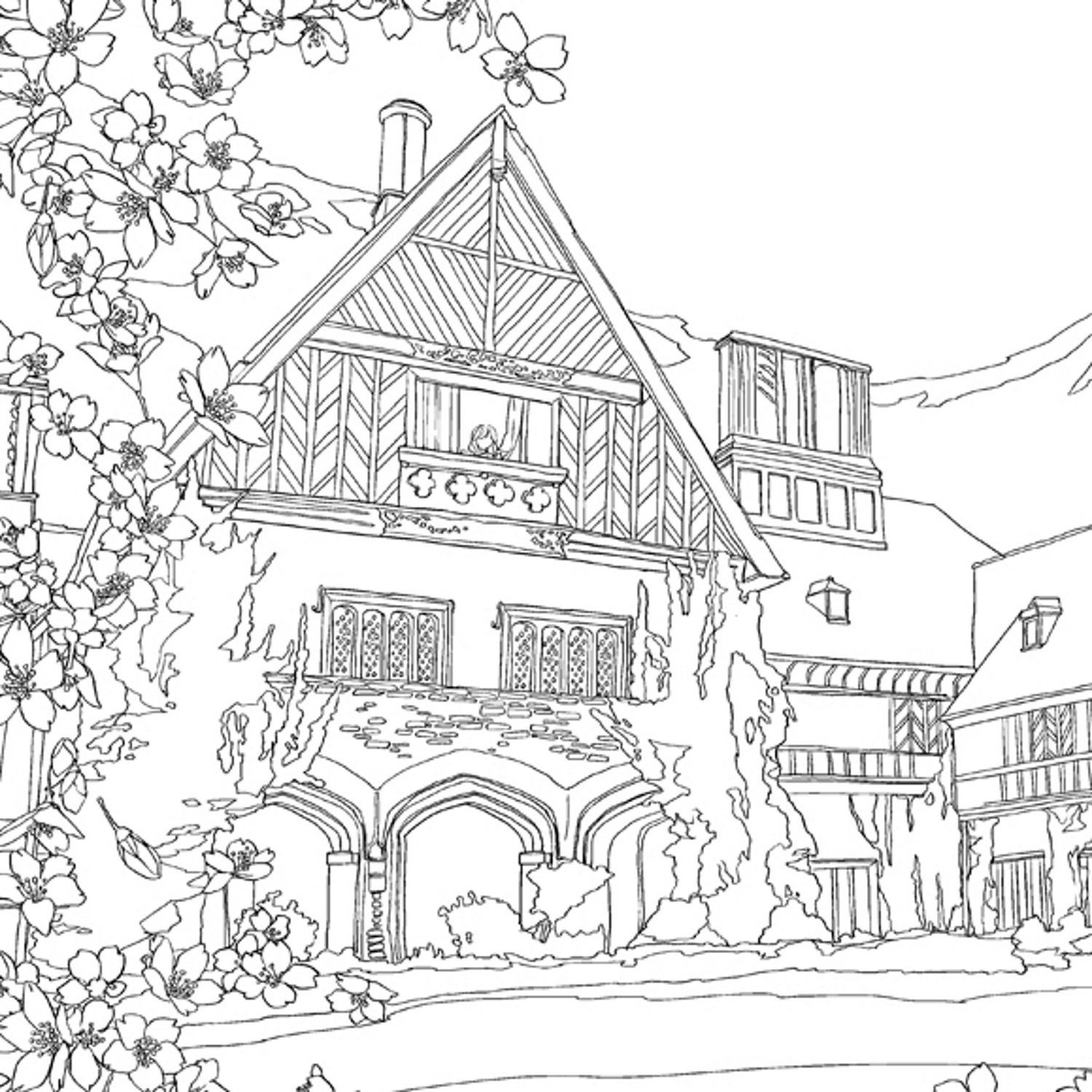 Color the Classics: Anne of Green Gables: A Coloring Book