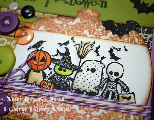 Inkadinkado Hween Sq Card Closeup by AmyR