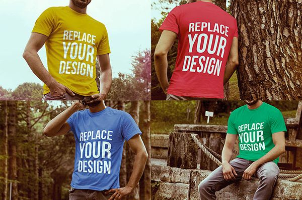 Download 51 Awesome Free T Shirt Mock Ups Psd Tshirt Mockup Shirt Mockup Free T Shirt Design