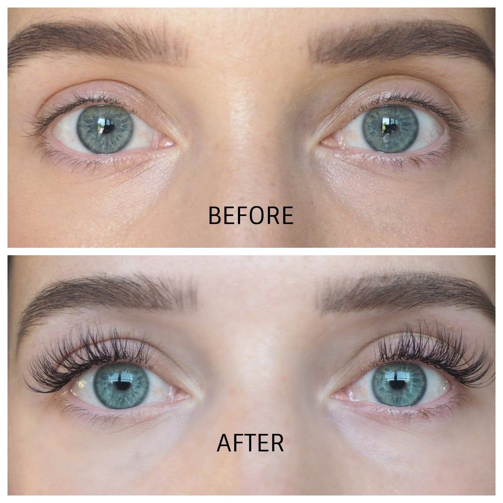 Nouveau Lashes Svs Lash Treatment Review Before After Tyyli