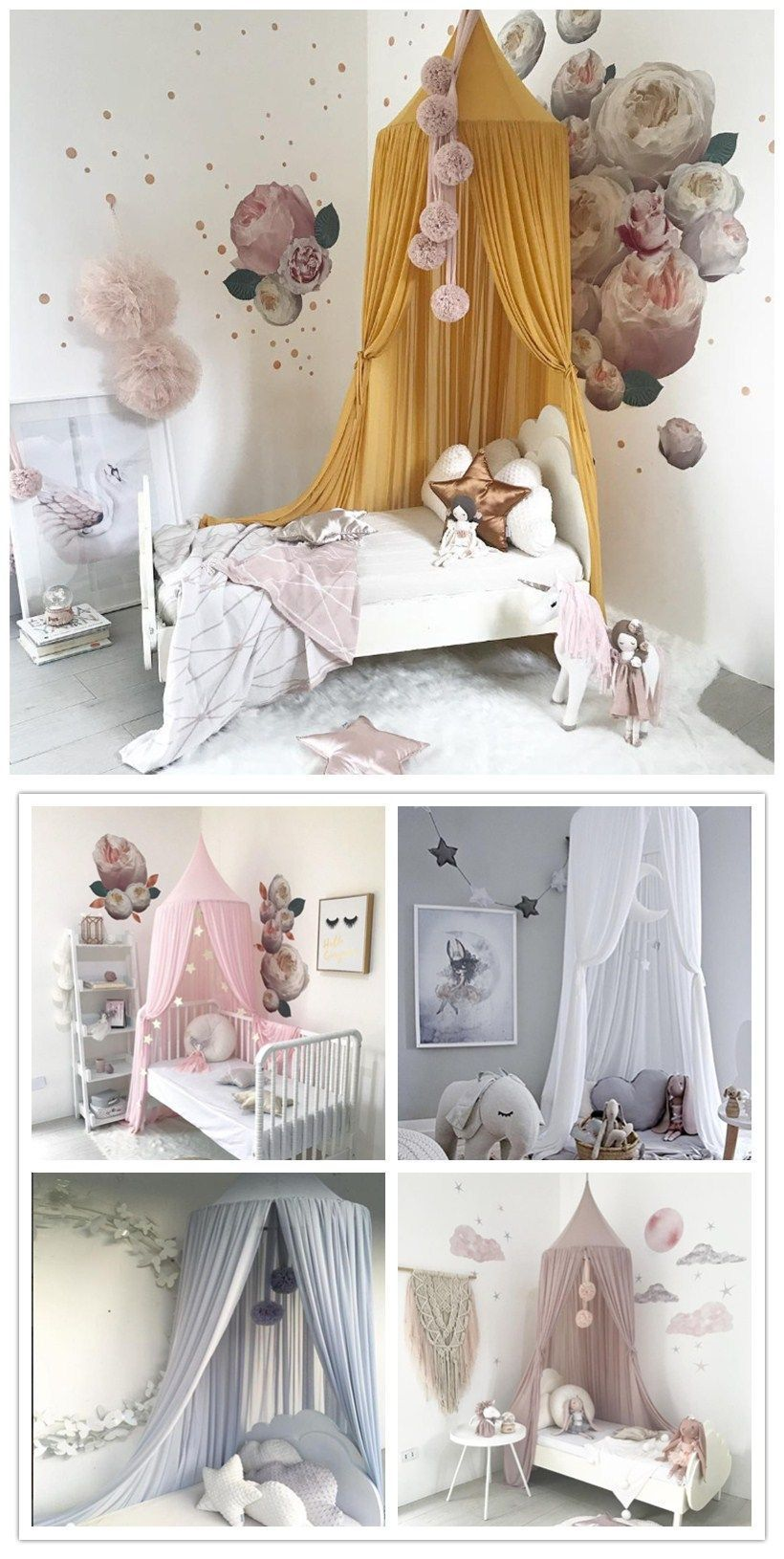 Photo of Bed canopy DIY, bed canopy children, bed canopy ideas, bed canopy … –  Bed can…