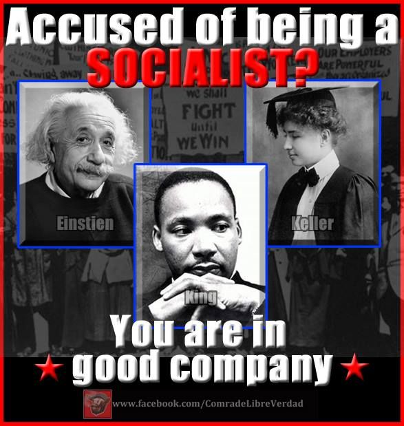 (((https://www.facebook.com/ComradeLibreVerdad))) socialism-misnomer for philanthropy, humanitarian note: Einstein, and Dr. King were also Zionists.