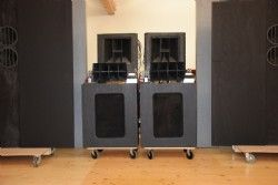 Lansing Iconic SYSTEM REPLICA ORIGINAL Altec 612 Cabinet, Woofer ...