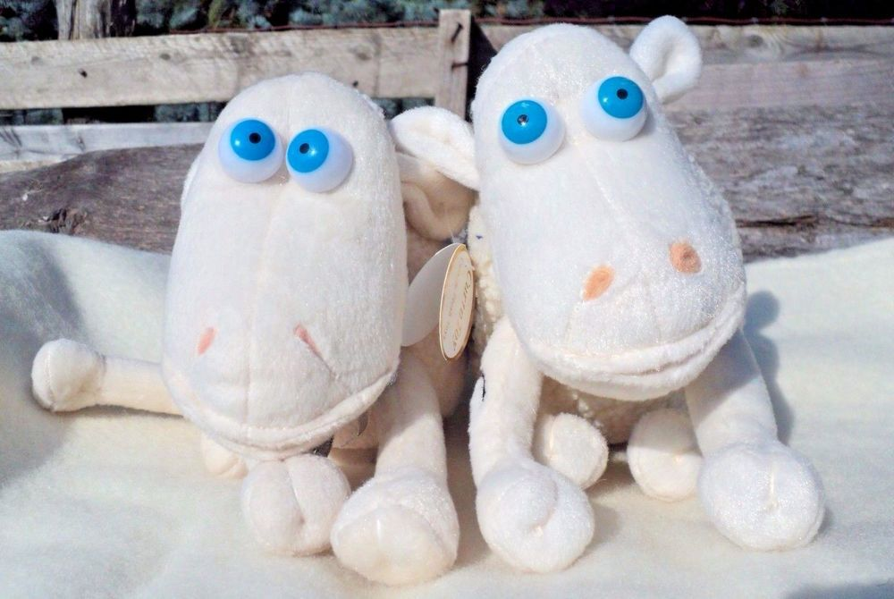 SERTA counting Sheep Baby 1//16 Plush Curto Toy with Pacifier Stuffed Animal New