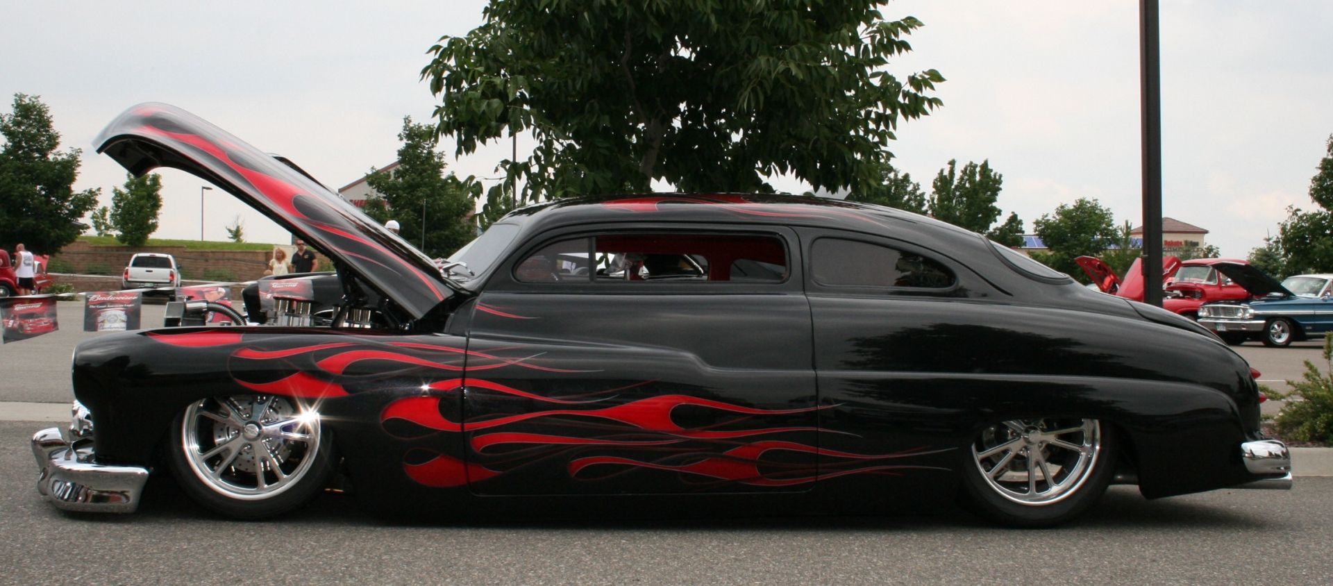 Used Car Values: Mercury Lead Sled (black with flames) | Cars ...