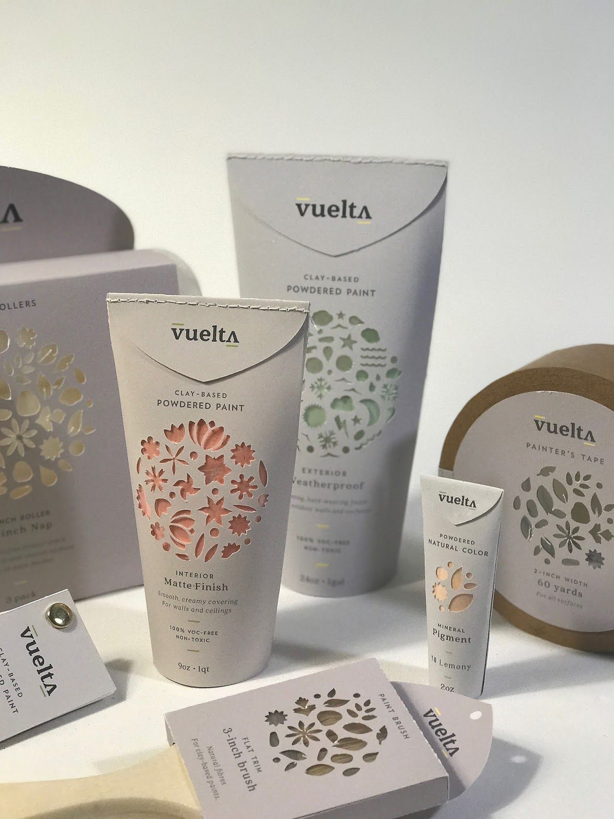 Vuelta Student Project Cosmetic Packaging Design Creative