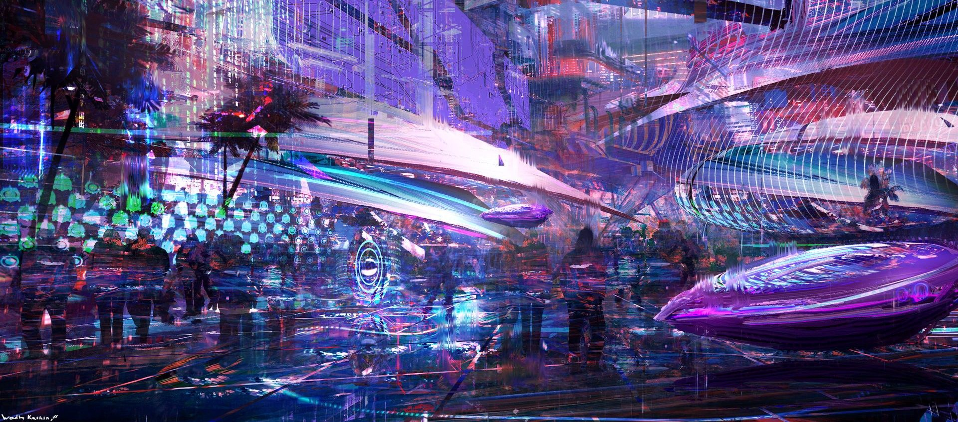 cyberpunk city hd wallpapers - photo #21