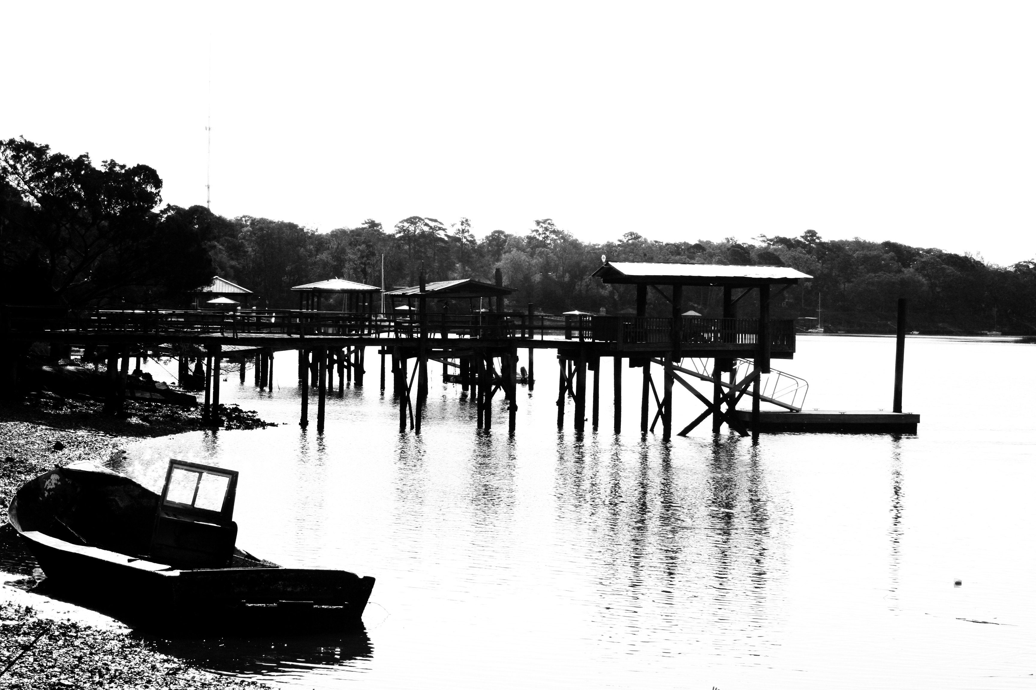 This is our family's dock in the picture! Hilton head