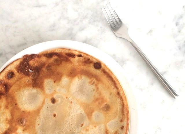 Lekker recept voor gezonde en glutenvrije boekweitpannenkoeken.