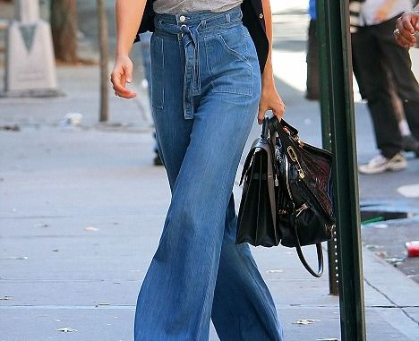 jeans with a flare