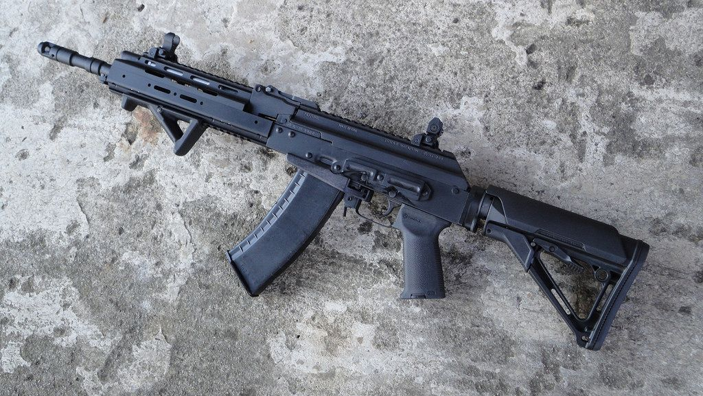 Gewehr Werks 5.45x39 AK-74 Rifle - A virgin AK-105 barrel assembly was used…