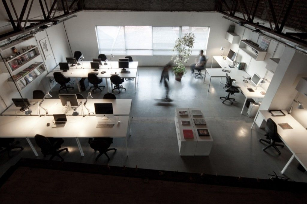 Interior Design For A Graphic Design Studios Design Studio Office Industrial Office Design Home Office Design