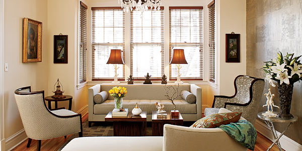 Nice 1940s Living Room Life Was A Little More Formal Back In The 40s. Elegant  Crown Molding And Tastefully Appointed Upholstery Add An Air Of  Sophistication To ...