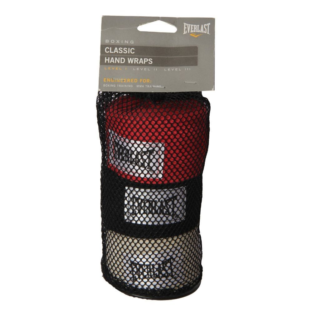 Everlast 44553 hand wraps pack of 3 108 inches