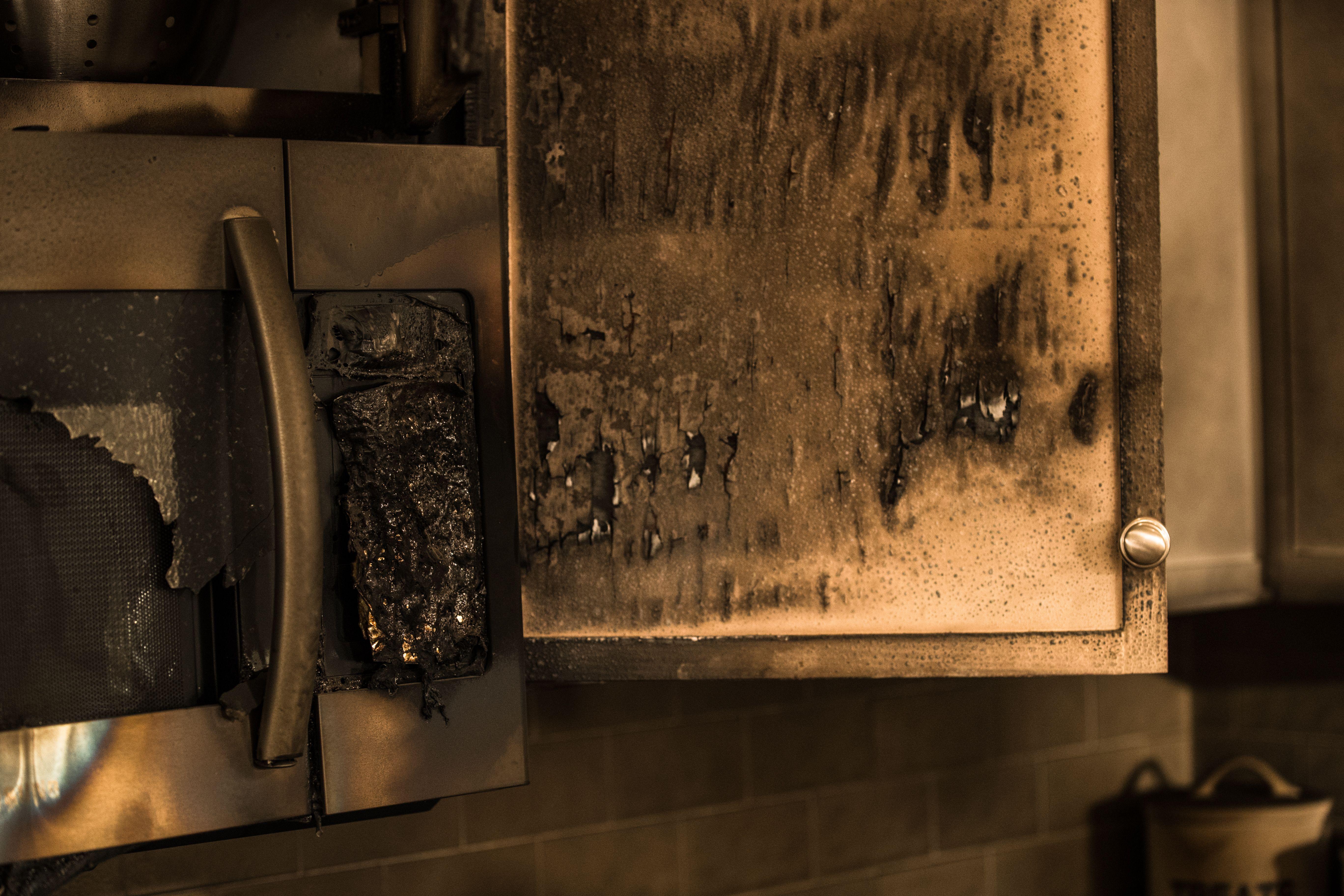 Fire Damage In 2020 Damage Restoration Fire Damage House Restoration