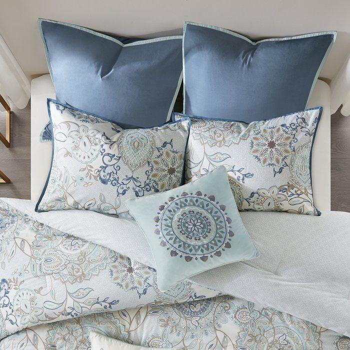 Kinsley Reversible Comforter Set Comforter sets, King