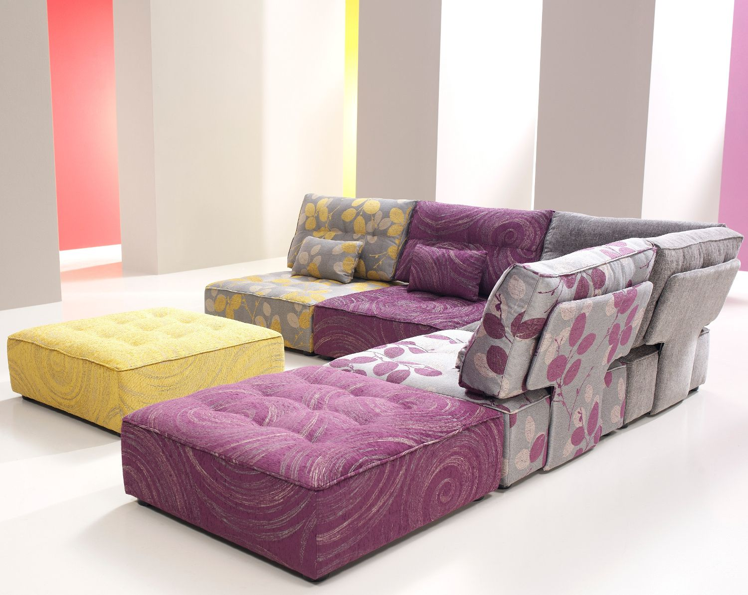 The Fama Arianne Sofa Is A Fun Modern Modular Sofa Design Comprising Of  Simple Elements,