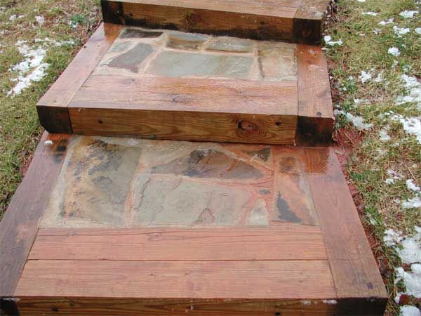 Best Timber Steps Backyard Walkway Outdoor Patio Designs 640 x 480