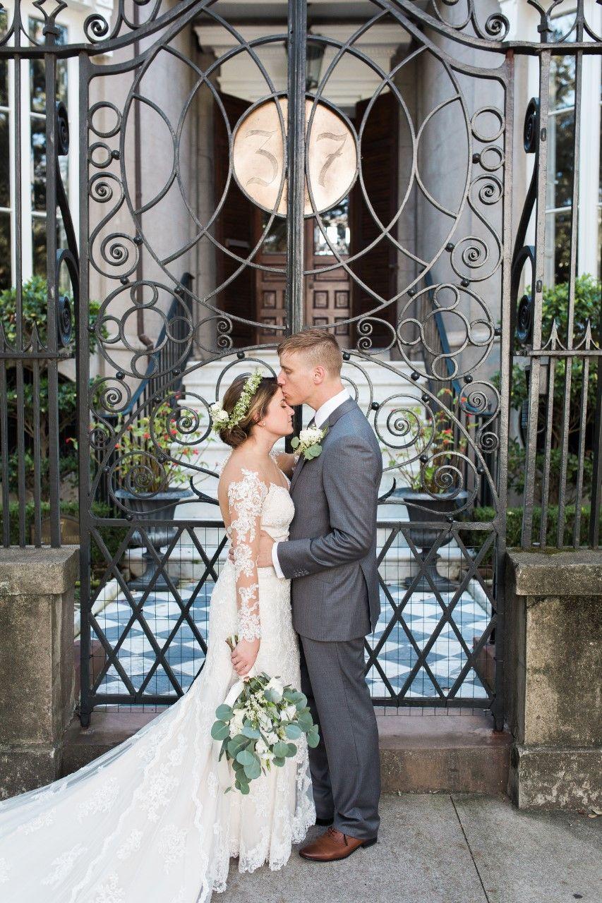 Brides Laurens Dreamy Illusion Lace Gown Gown Boutique Of