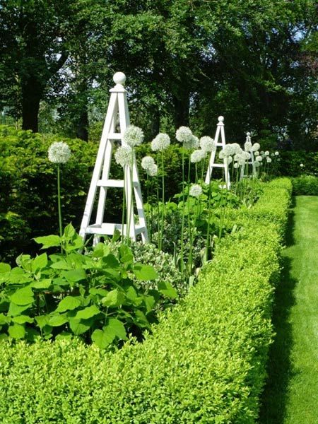 Wooden obelisk painted garden obelisks gallery gardens for Garden obelisk designs
