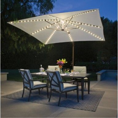 Solar Lights For Patio Umbrellas Mesmerizing Offset Umbrellas Huge Di…  Offset Umbrellas Factory Directwww Design Ideas