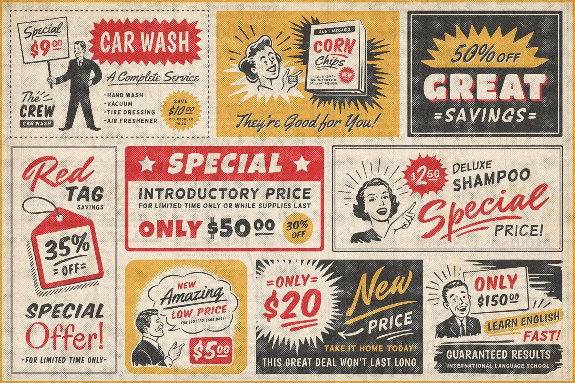 Christmas Vacuum Ads 2020 1950s Retro Style Ad Templates in 2020 | Retro ads, Vintage