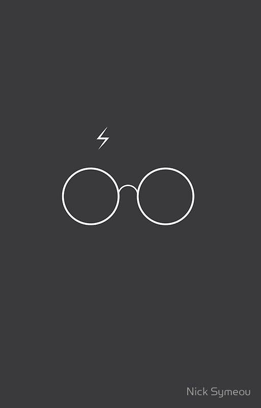 Harry Potter Minimalist By Nick Symeou Harry Potter Wallpaper Harry Potter Iphone Harry Potter