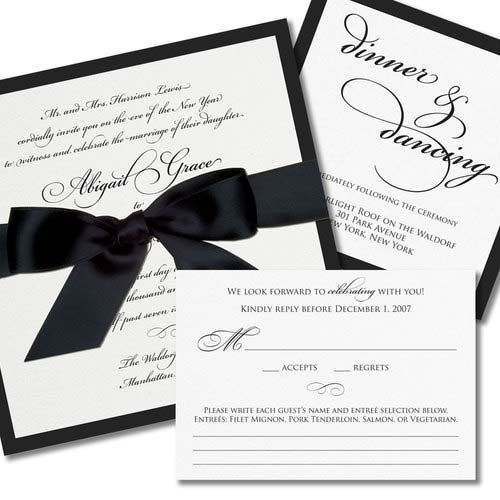 Images of Black And White Wedding Invitations Wedding Goods – Cheap Black and White Wedding Invitations