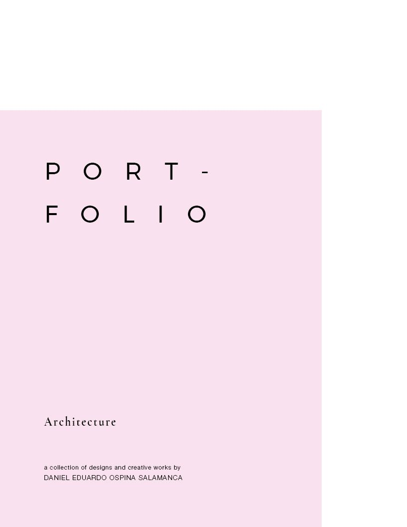 Architecture Portfolio on Behance #onlineportfolio