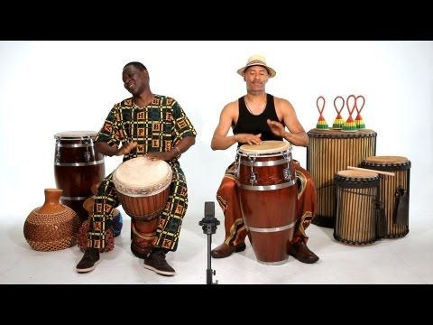 With so many different drums used in hand percussion knowing the difference between instruments can be difficult. This video from Howcast explains the difference between the djembe and the conga.