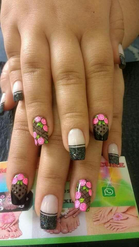 Pin de Yami LA India Valderrama en uñas | Pinterest | Diseños de ...