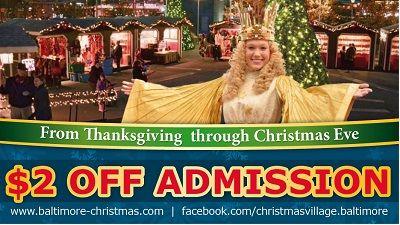 Christmas Village Entrance Coupon 2014