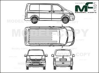 Пин от пользователя Model COPY на доске Volkswagen blueprints