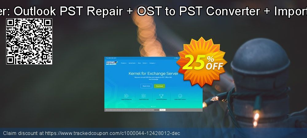 25 Off Kernel Combo Offer Outlook Pst Repair Ost To Pst