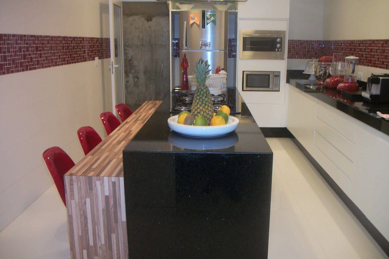 Cozinha Ap S Projeto De Ilha Central Circula O Entre Ilha E Pia